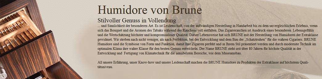 Humidore von Brune