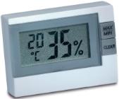 LCD-Thermo-Hygrometer 9025 für relative Luftfeuchte und Temperatur
