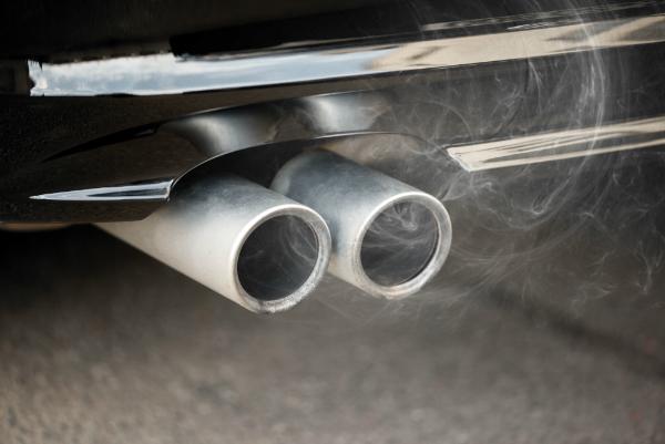 Kohlendioxid Verbrennungsprozess Motor