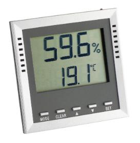 Humidor Thermo-Hygrometer 9026