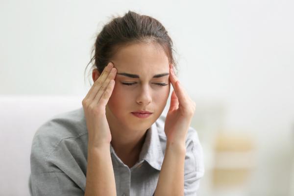 Stress als Ursache fuer trockene Schleimhaeute