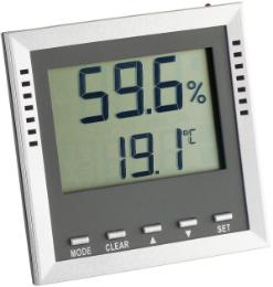 Brune Thermo-Hygrometer 9026