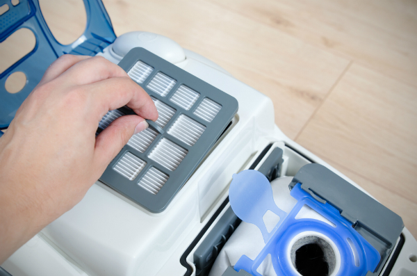 Staubsauger mit HEPA-Filtern helfen bei der Bekämpfung von feinem Hausstaub
