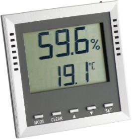 Thermo-Hygrometer zur Anzeige von Feuchte und Temperatur im Kinderzimmer
