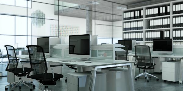 Großraumbüros und andere große Räume brauchen ein ausgewogenes Raumklima