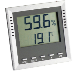 Thermo-Hygrometer 9026 fuers Schlafzimmer