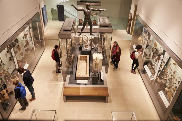 Leiser Luftbefeuchter im Museum