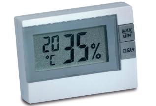 Thermo-Hygrometer 9025 von Brune relative Luftfeuchte und Temperatur