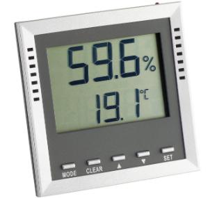 Thermo-Hygrometer 9026 digital von Brune relative Feuchte und Temperatur