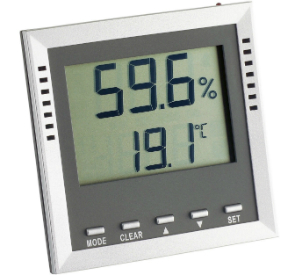 Digital Thermo-Hygrometer 9026 Anzeige Feuchte relativ Temperatur