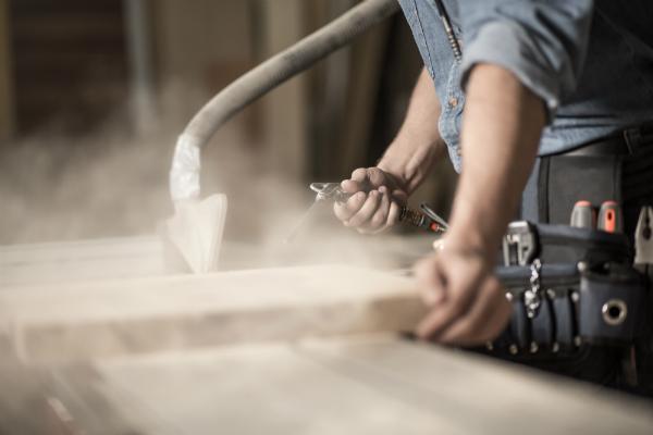 Feiner Staub ist eine große Gefahr für die Atemwege