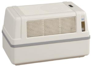 Optimale Luftfeuchtigkeit in Wohnraeumen mit dem Brune Luftbefeuchter B 120
