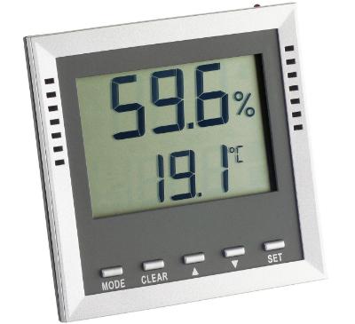 Thermo-Hygrometer 9026 zur Anzeige von relativer Feuchte und Temperatur