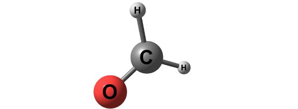 Formaldehyd molekulare Struktur