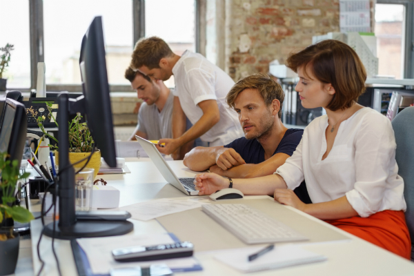 Teamwork am Arbeitsplatz