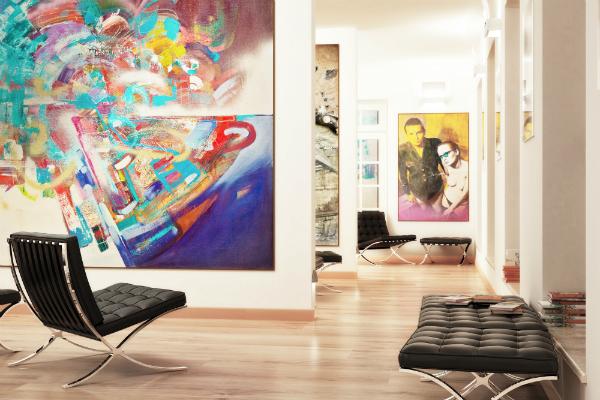 Ein falsches Raumklima kann Gemälde schädigen
