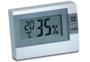 Thermo-Hygrometer 9025 mit LCD-Anzeige