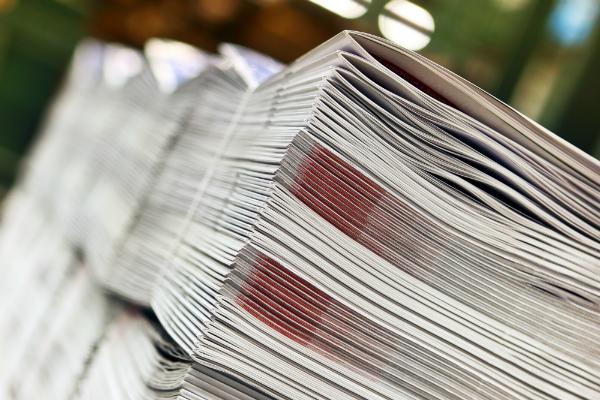 Versandfertige Druckexemplare