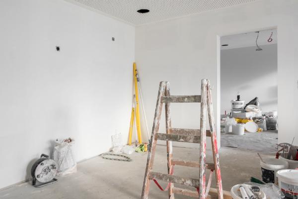 Innenausbau einer Wohnung