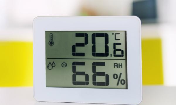 Die Luftfeuchtigkeit und Temperatur sollten konstant bleiben