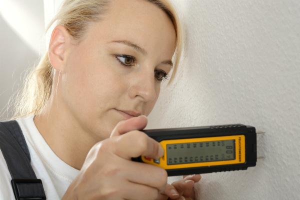 Luftfeuchtigkeit in der Wand messen