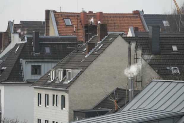Innenstadt Wohnungen sind der Feinstaubbelastung ausgesetzt