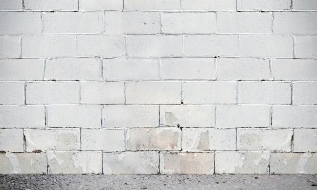 Wand mit ersten Folgeschäden von zu viel Feuchtigkeit