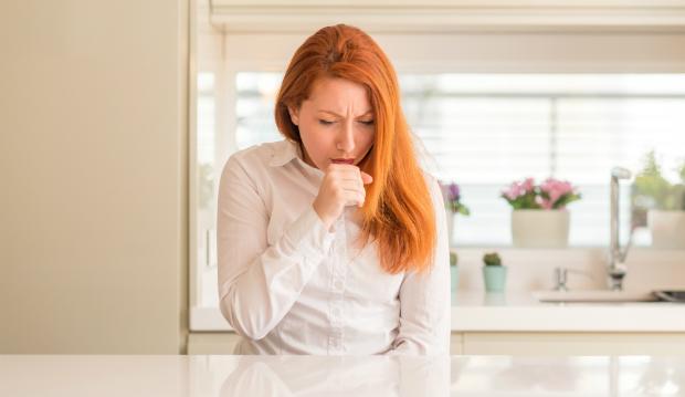 Lungenprobleme als Folge von zu viel Schimmelsporen