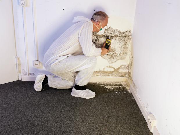 Der Keller ist anfällig für nasse Wände