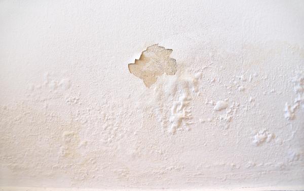 Feuchtigkeit an der Wand