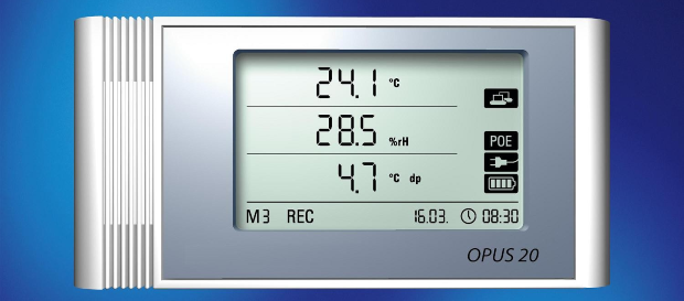 Thermo-Hygrograph OPUS 20, PoE