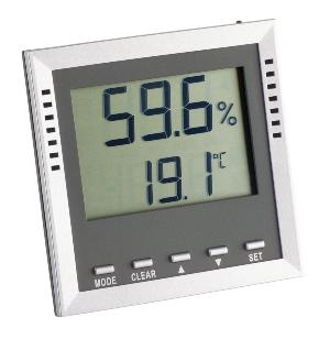 Digitales Thermo-Hygrometer 9026 Anzeige von relativer Feuchte und Temperatur