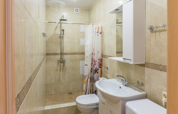 Kleines Bad - Luftfeuchtigkeit im Bad vermeiden
