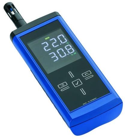 Elektronisches Handmessgerät 9007   zur punktuellen Messung von Feuchte und Temperatur