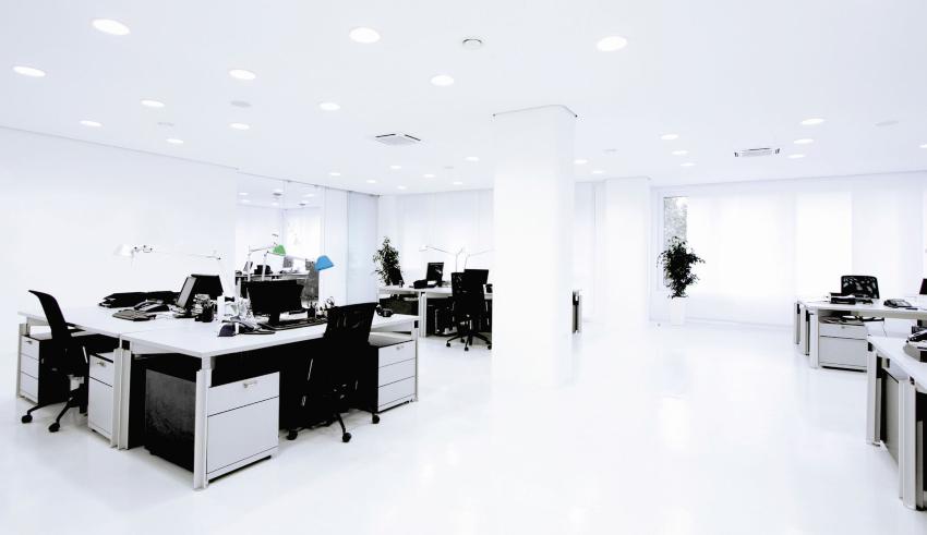 Großraumbüro - Raumbefeuchter für Büro und Gewerbe