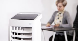Luftbefeuchter im Home-Office